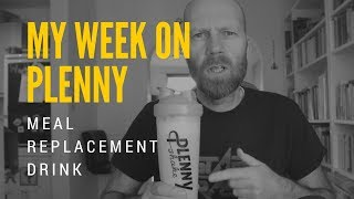 My Week on Plenny Meal Replacement Shakes from Jimmy Joy (Joylent)