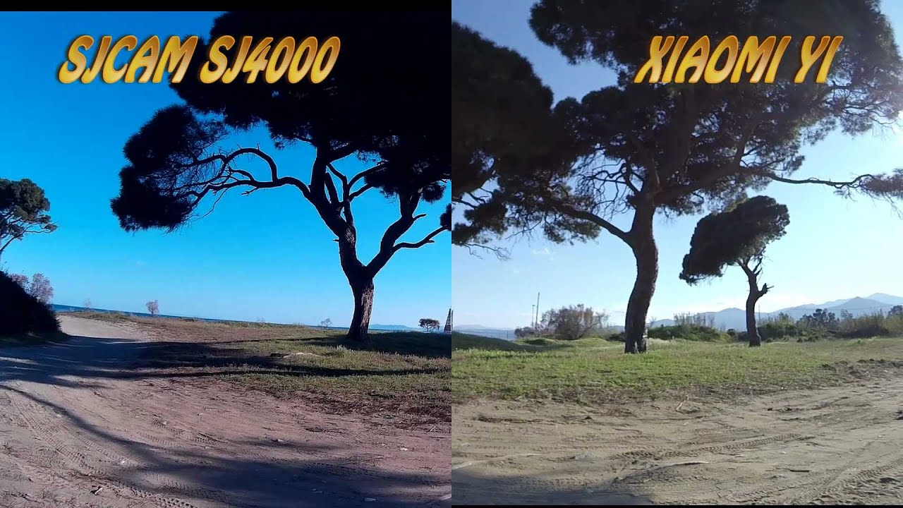 Xiaomi yi vs gopro hero action camera comparison cameralah com gopro - Xiaomi Yi Vs Sj4000 Side By Side Sea Sand And Seaside Forest Youtube