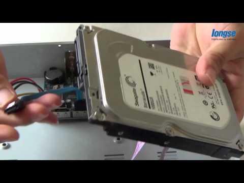 กล้องวงจรปิด LONGSE  HD CVI ep_01- แกะกล่อง ติดตั้งHDD