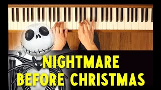 Sally's Song (Nightmare Before Christmas) [Easy-Intermediate Piano Tutorial]