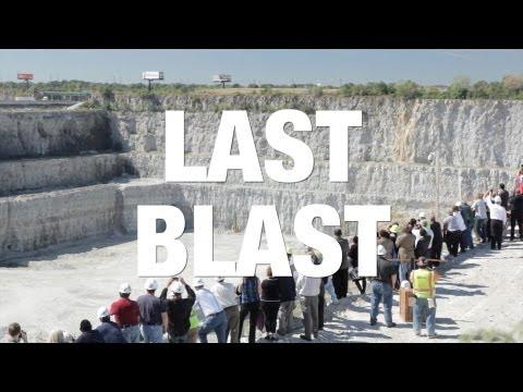 Last Blast at MWRD Thornton Reservoir