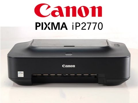 Cara Isi Ulang Tinta Printer Canon Ip2770 Catridge Youtube