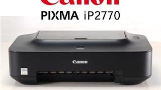 Cara Isi Ulang Tinta Printer Canon Ip2770 Catridge Youtube
