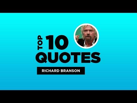 Top 10 Richard Branson Quotes - British Businessman. #RichardBranson #RichardBransonQuotes #Quotes