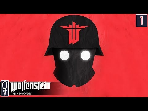 Let's Play Wolfenstein The New Order [BLIND] - Part 1 - EYES OPEN BLAZKOWICZ - Gameplay Walkthrough
