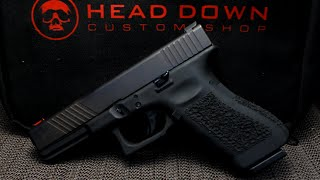 Head Down Custom Shop Glock Pistol