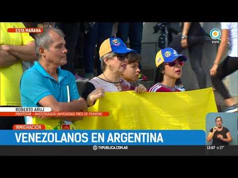 Venezolanos en Argentina | #TPANoticias