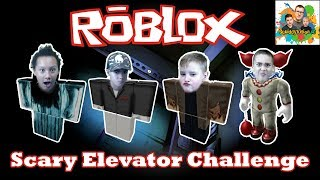Roblox Scary Elevator! Squiddy Vision HD Lets Play Kids