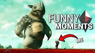 No Man's Sky Next - Funny Moments. ABSOLUTE UNIT!