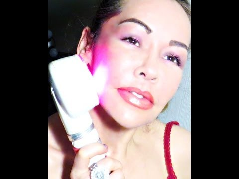INDUCTING COLLAGEN into layers of skin with RED LIGHT/RADIO FREQUENCY