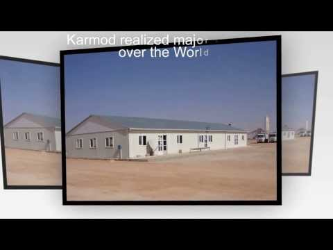 Workers village camp in oil and gas - Mining construction camp