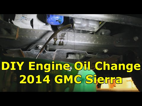 how to change oil on a 2015 sonic