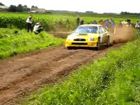 "Exotic Green Rally 2008 Subaru WRC ""onverhard"" KP Jumbo"