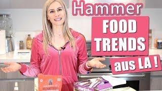 Hammer FOOD TRENDS aus LA 2018   Ideal fürs Abnehmen!
