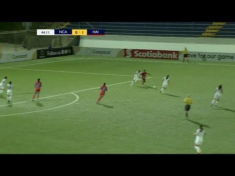 Goal at 44' | Nicaragua vs Haiti
