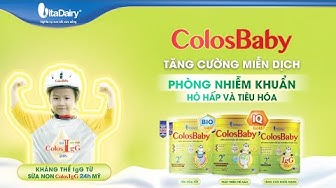 Review Sữa COLOSBABY - Giảm Ốm Vặt - Tăng Cân Khỏe Mạnh  - SBT Vlog 6