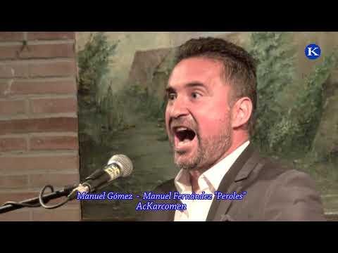 """Manuel Gomez  Y Manuel Fdez """"Peroles"""" #SOLEA XXXVI Concurso Nac. Cante #Flamenco Ciudad De Carmona"""