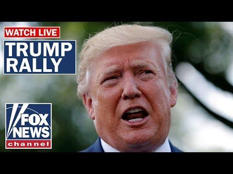 Trump holds rally