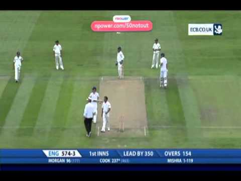 Alastair Cook 294 vs India 2011