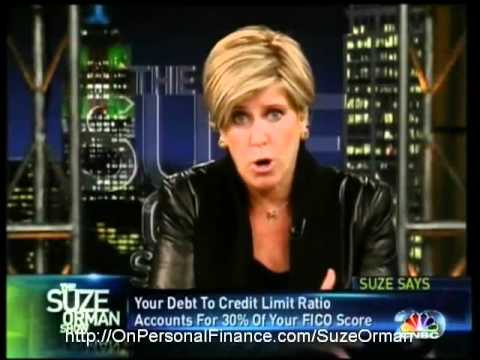 Suze Orman Is It Better To Pay Off Small Credit Cards First