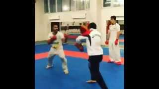 Rafael Aghayev. Hard training