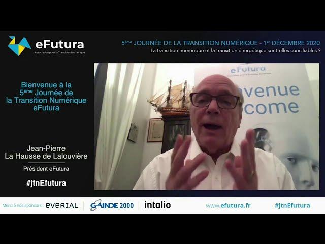 Présentation de l'association eFutura par son président - 5ème journée de la transition numérique.