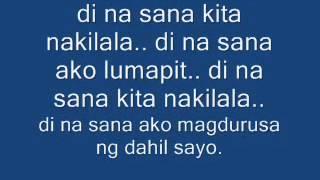 Download sana-di-nalang-dello-lyrics MP3 song and Music Video
