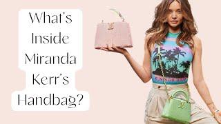 What's Inside Miranda Kerr's Handbag