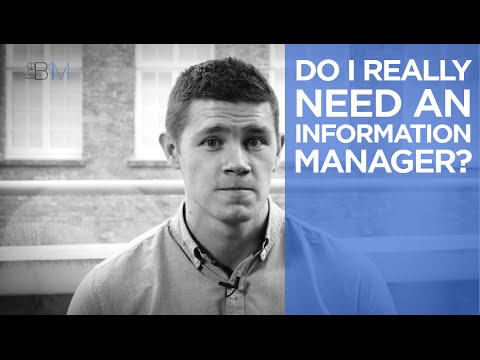 Do I Really Need An Information Manager? | The B1M
