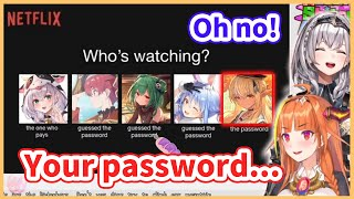 Noel's password has been leaked to 3rd gen members!?【Hololive/Eng sub】