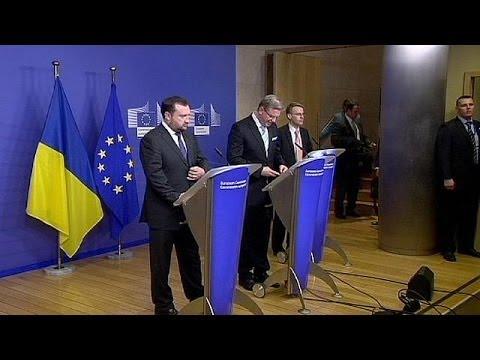 L'Union Européenne Propose à L'Ukraine Une Feuille De Route