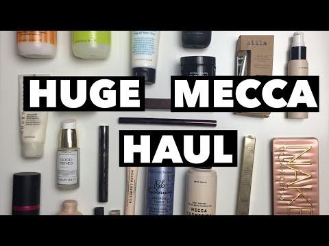 Huge Mecca Haul // Mecca Cosmetica, Mecca Maxima & Kit // Makeup, Skincare, Haircare & More