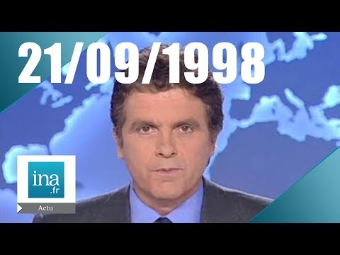 20h France 2 du 21 septembre 1998 | L'affaire Lewinsky | Archive INA