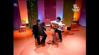 """""""Canastera"""" Chato de Malaga & Ruben Diaz (plays Marcelo Barbero 1948 mics) Andalusian Guitar TV 2013"""