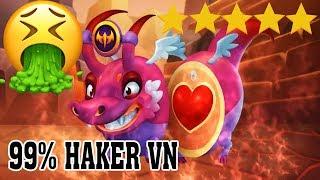 PHÁT HIỆN HACKER VIỆT NAM VỚI RỒNG 5 SA0 HƠN 200K MÁU - Dragon City Game Mobile Android, Ios