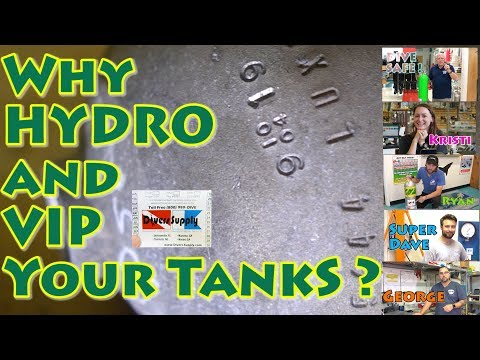 Why Hydro And VIP Your Scuba Tanks ?
