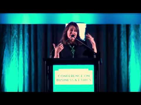 2017 Conference on Business & Ethics - Keynote: Patricia Heaton ...
