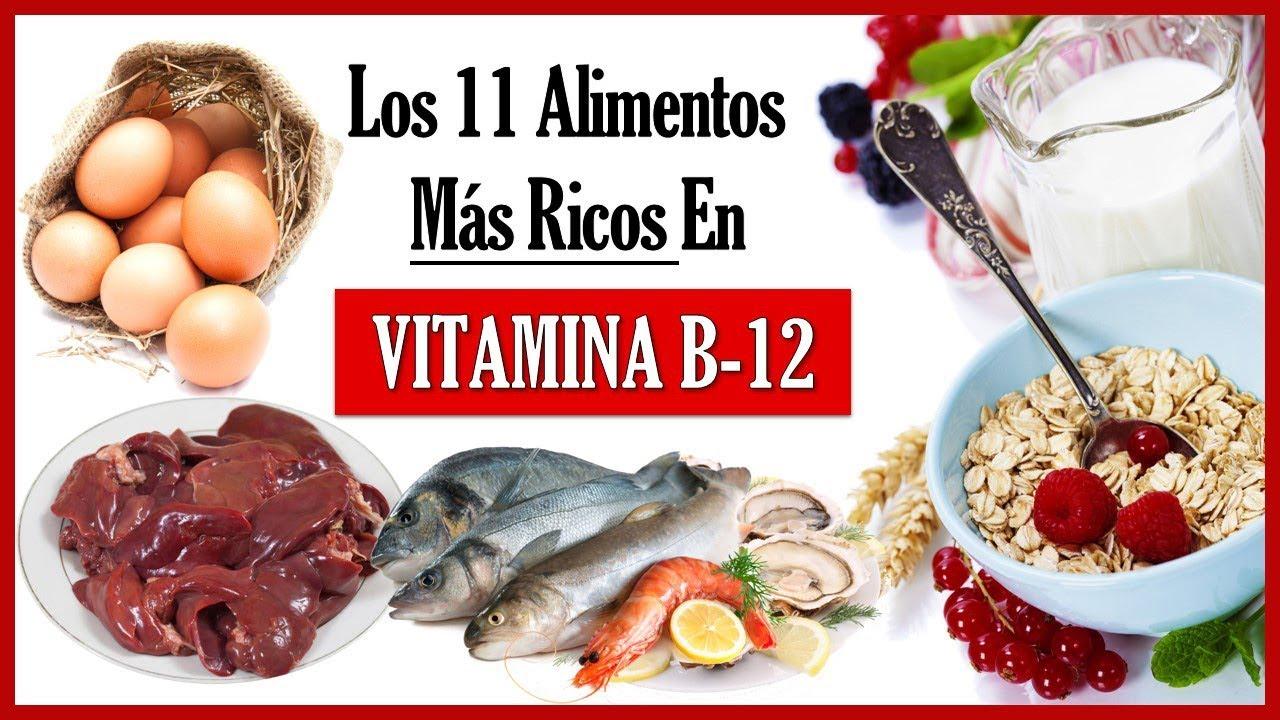 Alimentos ricos en vit b12