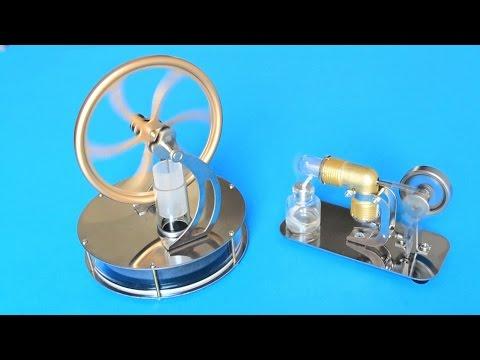 Motores Stirling de Banggood