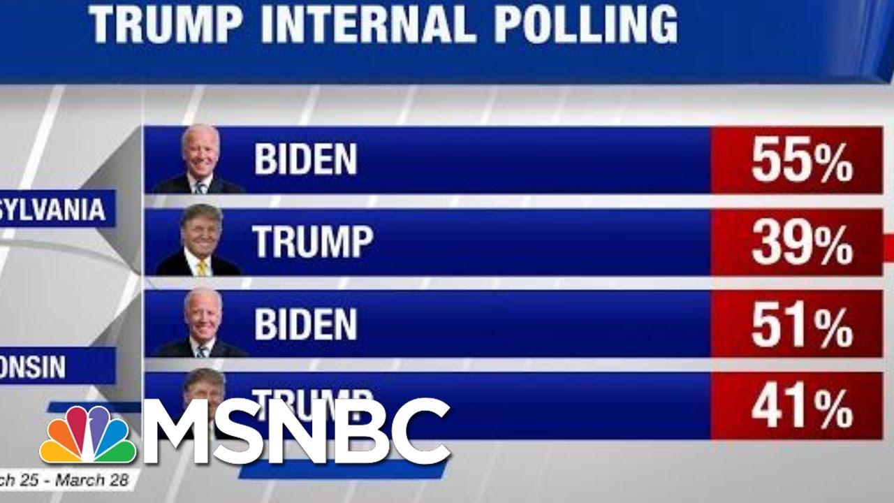 Trump's Early Internal Polling Shows Him Behind Joe Biden In ...