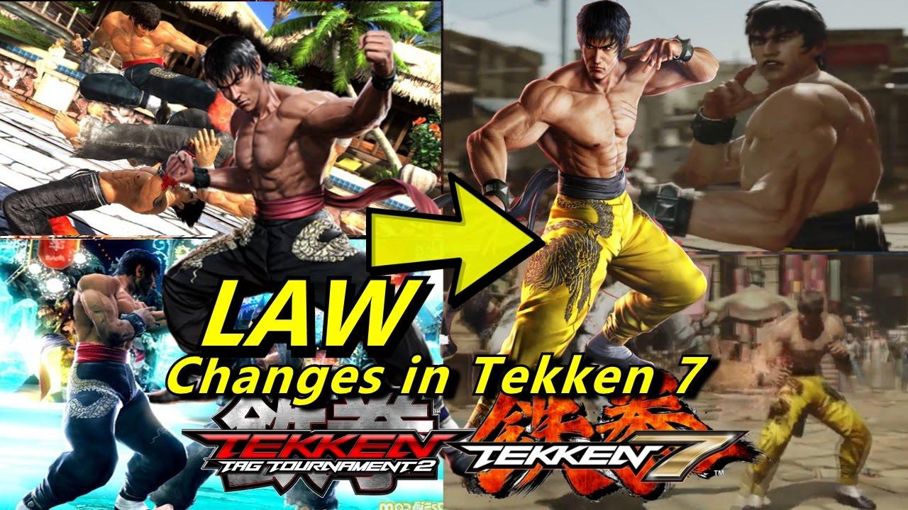 Tekken 7 Marshall Law Changes Youtube