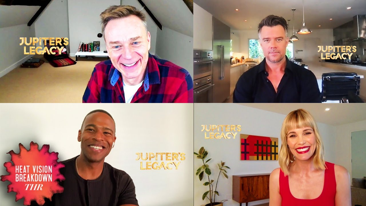 'Jupiter's Legacy' Cast Reveal How Show Could Expand Beyond the Comics I Heat Vision Breakdown
