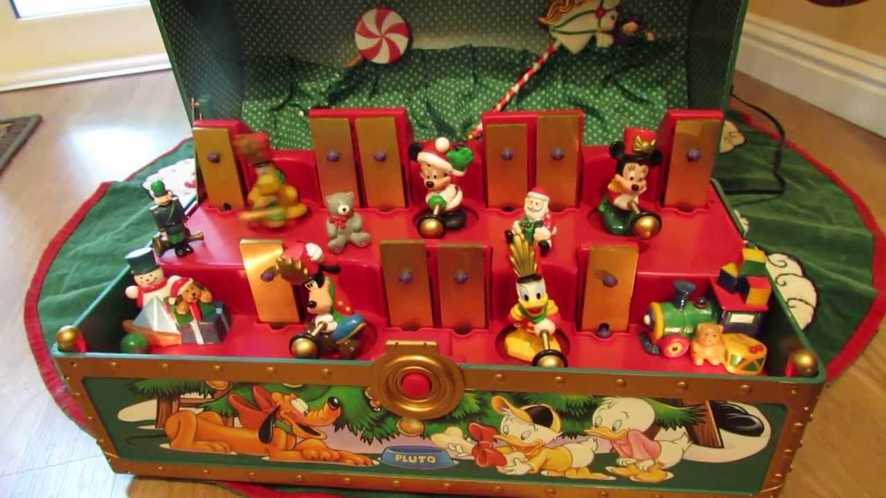 disney christmas music box 1 - Disney Christmas Music