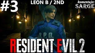 Zagrajmy w Resident Evil 2 Remake PL | Leon B | odc. 3 - Kolejka linowa | Hardcore S