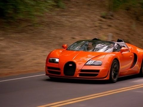 CNET On Cars Bugatti Veyron Grand Sport Vitesse Priciest car we ve ever driven Ep 19