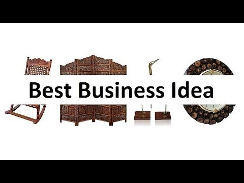 Best Business Idea Wooden Furniture And Craft From Saharanpur