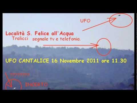 Ufo Cantalice 16.11.2011 CSF Rieti OVNI ITALY. CSF Rieti