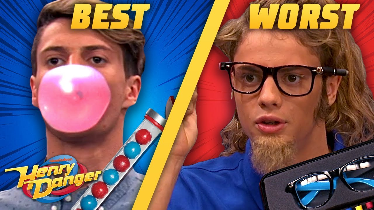The BEST & WORST Henry Danger Gadgets | Henry Danger