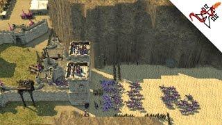 Stronghold Crusader 2 - 2vs1 Multiplayer