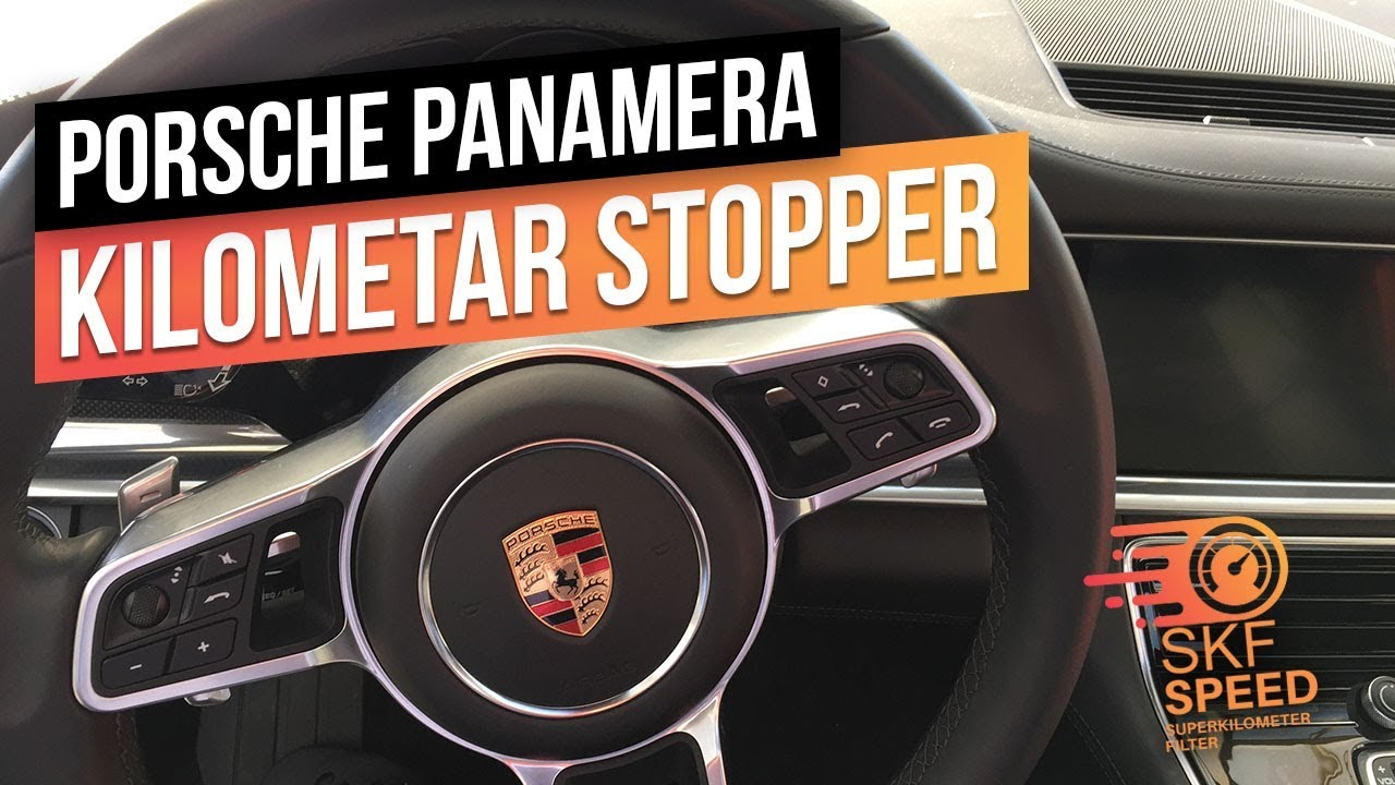 Porsche Panamera Tachostopper Porsche Stoppt die Kilometer KM STOP FREEZER